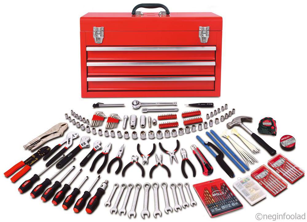 ابزارهای ساخته شده از فولاد