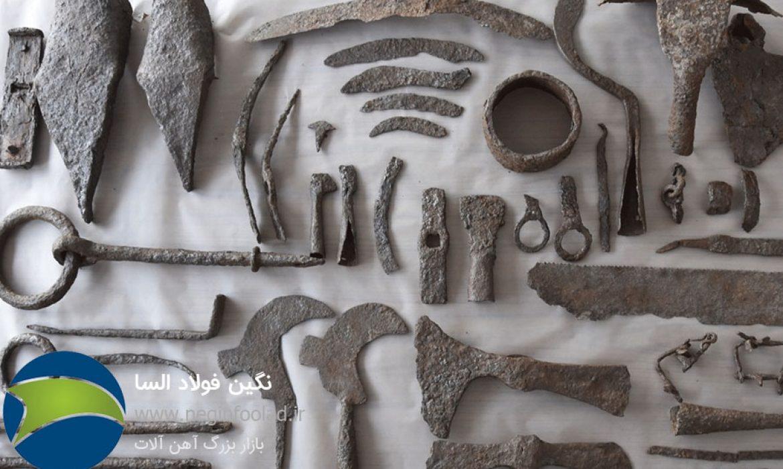 تاریخچه فلز آهن
