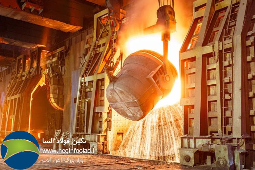 روش های تولید فولاد خام